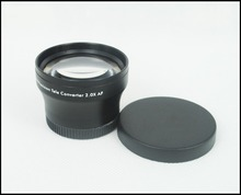 Hot sale 37mm 2.0x TELE Telephoto LENS for Camcorder 37 mm 2x Black