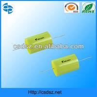 Various Type of plastic film capacitors making in china