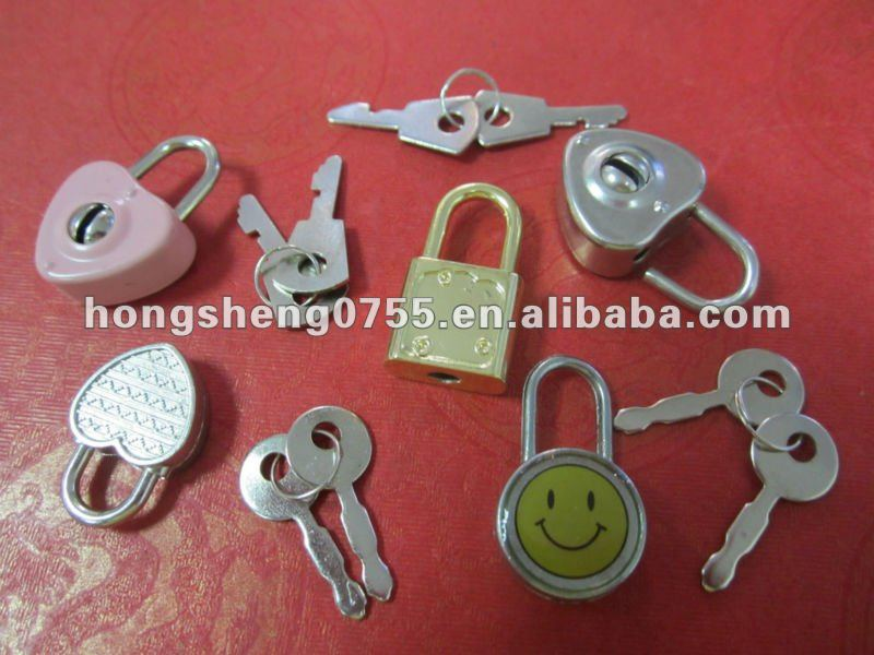 promotional mini locks for notebook /dairy book /bags /HS0755