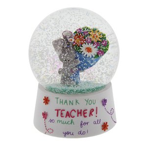 flowers Teachers' Day gifts resin water globe