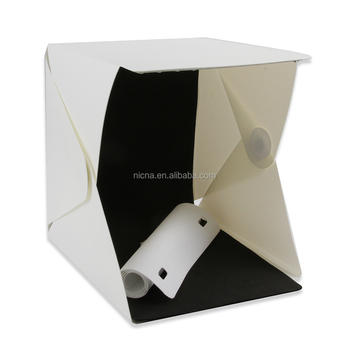 Foldable 9u0026quot; Desktop Table Photo Studio Light Tent Video Lighting Box Shooting Tent with 20  sc 1 st  Wholesale Alibaba & Foldable 9