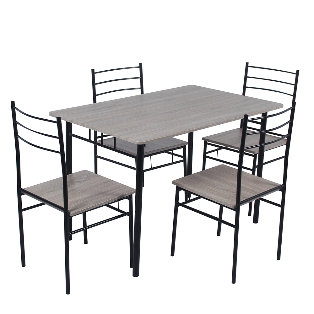 New design cheap dining room set with 1dining table and 4 dining <strong>chair</strong> DS-211