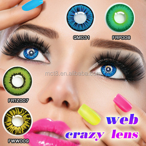 red cat eyes anime naruto cosplay crazy contact lenses wholesale
