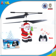 Top venta 2015 Santa Claus mini rc helicóptero