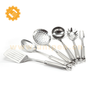 list of stainless steel bonny kitchen cooking utensils and their