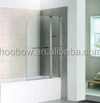SUS304 high quality security Europe frameless shower door lowes walk in bathtub with shower