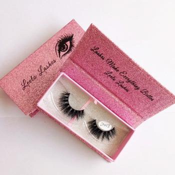 81b8a27bf07 Own Brand 3d Mink Lashes Custom Eyelash Packaging False Eyelash Box ...