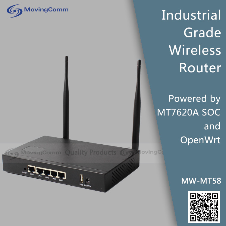 High power wireless wifi router with USB slot model MW-MT58 2.4ghz 300Mbps