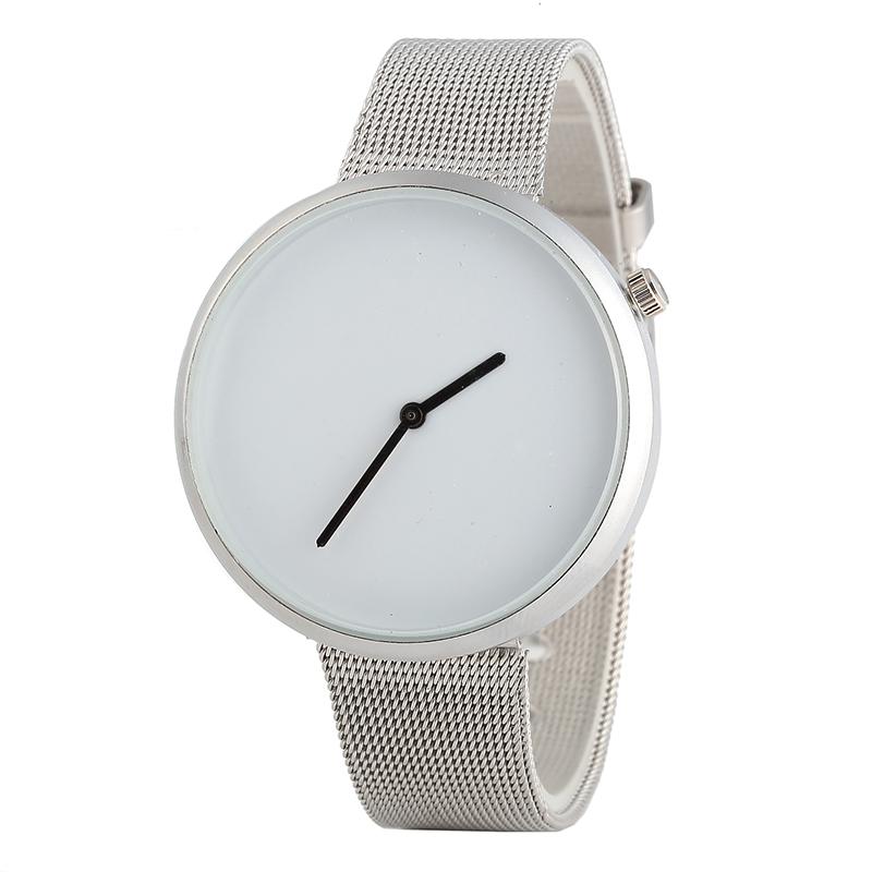 0fc1ac158 Простой стиль сплава часы для женщин сетки Группа Relojes Feminino Наручные  часы женщина со скидкой низкая