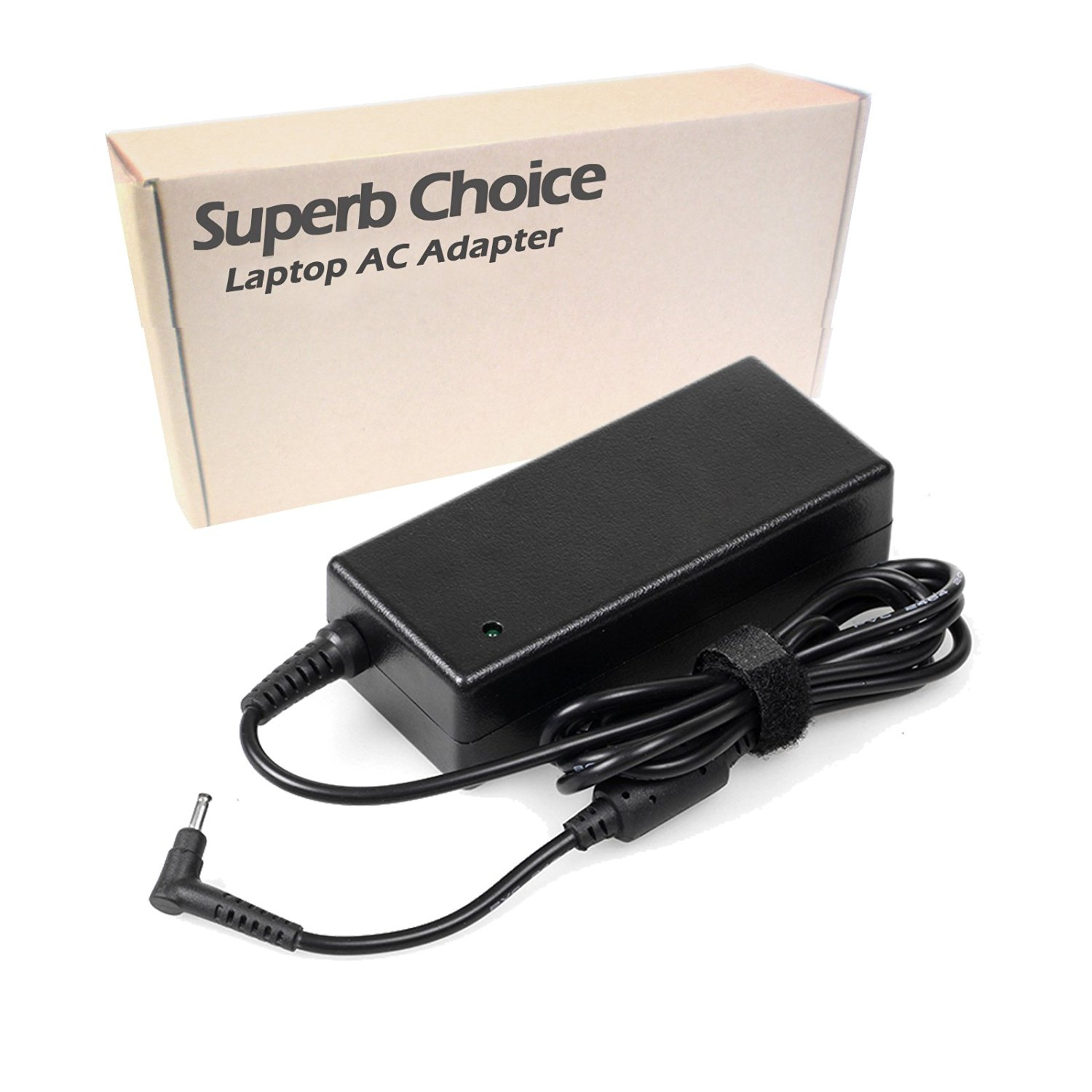 Acer Aspire One Cloudbook 11 14 AO1-131-C9PM AO1-431-C7F9 AC Adapter - Premium Superb Choice® 65W Laptop AC Adapter Battery Charger