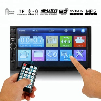 7018b Car 2din Radio Mp5 Car Video Player 7 Hd Touch Screen