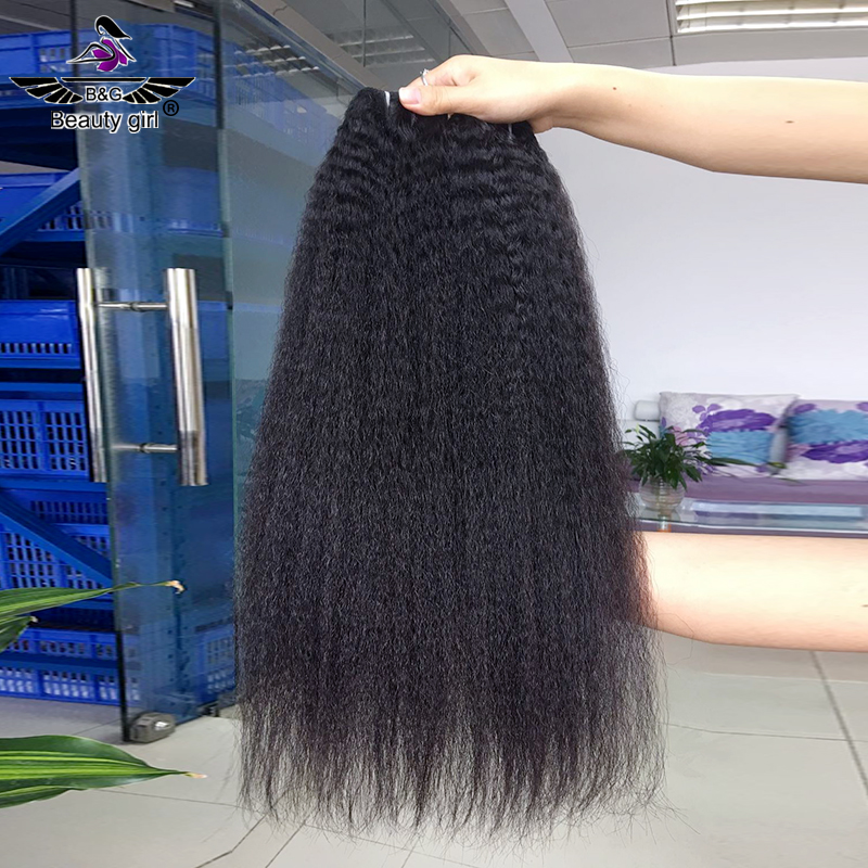 hot sell cuticle aligned virgin straight afro kinky hair extensions raw cambodian brazilian hair