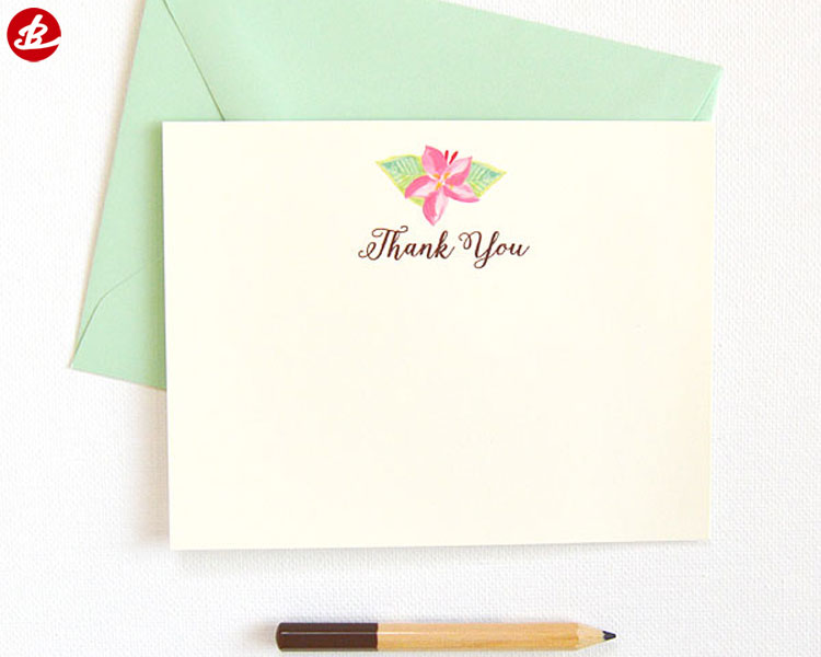 Professional High Quality Thank You Cards Greeting Cards Custom