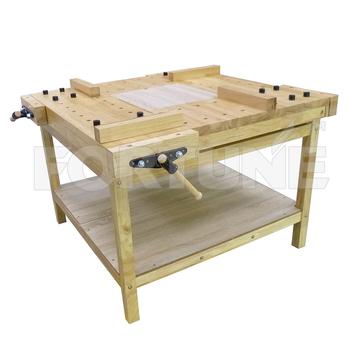 Strange Woodworking Wooden Workbench Installation Size 111X111X81Cm Buy Wooden Workbench Wooden Working Bench Woodworking Workbench Product On Alibaba Com Short Links Chair Design For Home Short Linksinfo