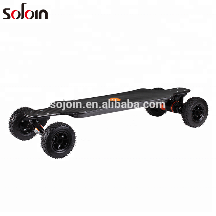 1600W*2 Carbon fiber Dual Motor 4 wheel Balance Electric Skateboard