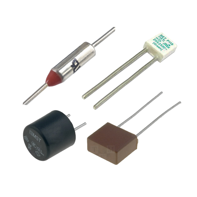 142 degree thermal fuse 10 amp non resettable pack of 2