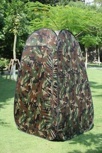 Camo Portable changing room tent