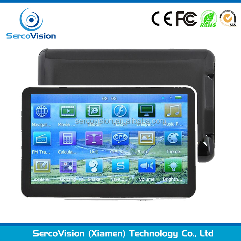 5 Inch Auto Car GPS Navigation Sat Nav 4GB latest Maps WinCE 6.0 FM support Multi-languages