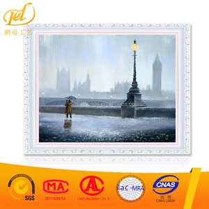 Hot Sale Pattern Diy Diamond Painting Art Painting Rainy Day Picture Cross Stitch 5D Painting Handicraft For Home Decorate MQ140