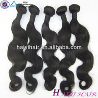 thick hair with wholesale 100% human virgin indian hair bulk top quality 16 Inches Straight Indian Remy Hair Extensions