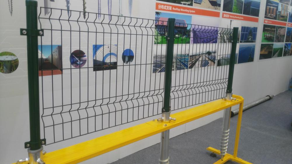 Thermisch verzinkt/pvc coating gelast mesh security hekken