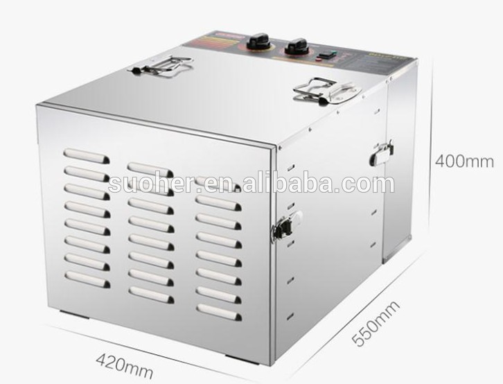 Electric Food Dryer For Fruit Vegetables Meat Fish Beef Jerky