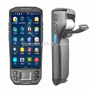 Cheap Price Wireless Portable Android Biometrics Fingerprint Scanner Reader 4G LTE GPS Bluetooth handheld PDA barcode