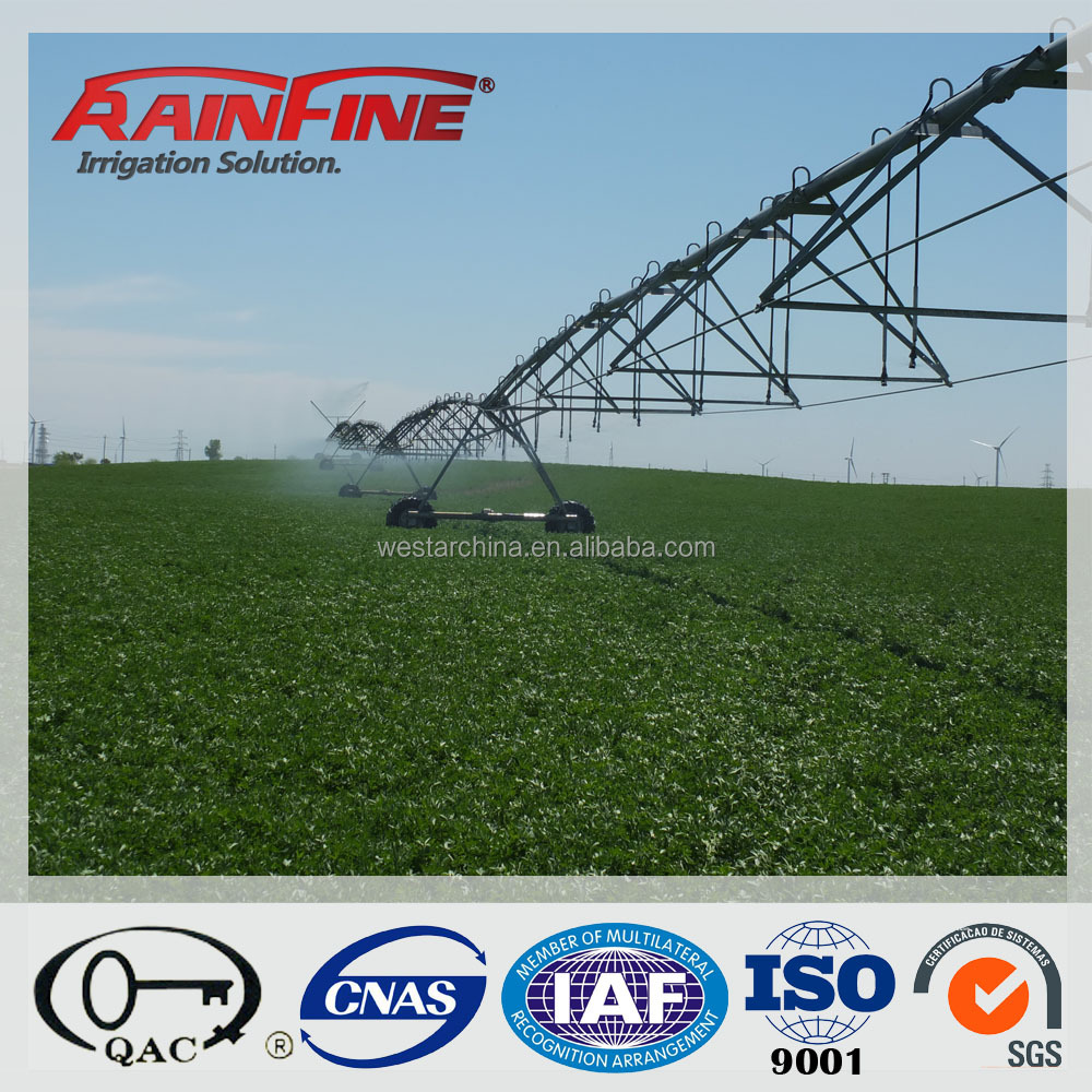 Water Saving Big Farm Central Pivot Farm Irrigation Machine Used in Large Flield