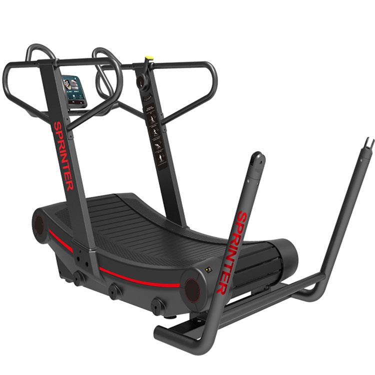 Land Fitness Incurvé Tapis Roulant Skillmill Modèle Utilisation