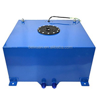 5 Gallon OEM Polished with Level Sender and Cap Aluminum Racing Fuel Cell Tank