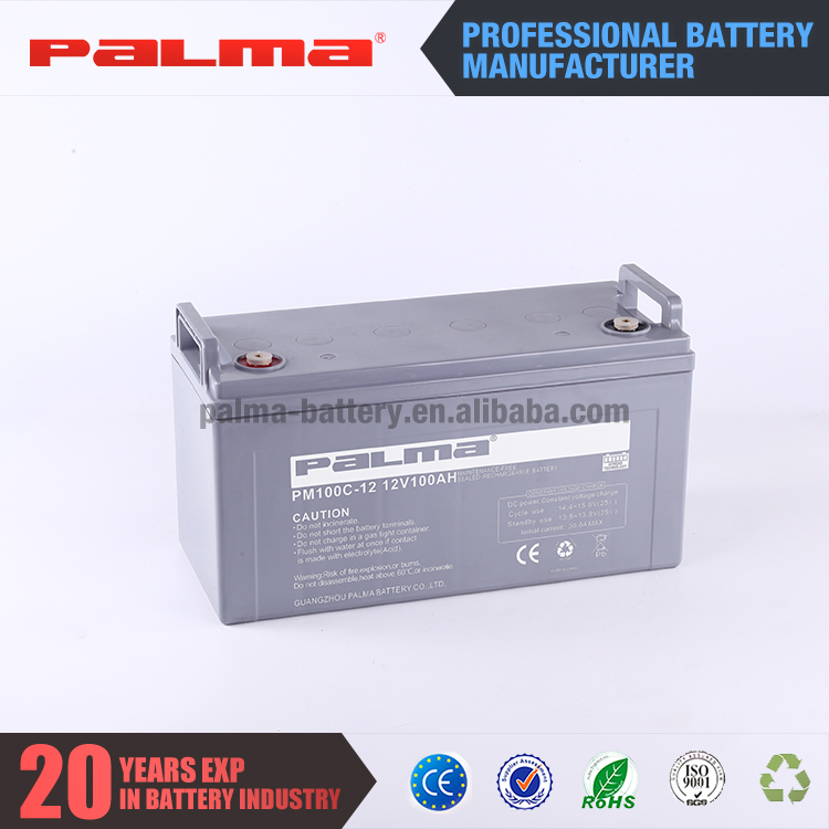 Reliable 12V 100ah sealed various styles 12v deep cycle battery