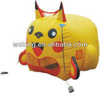 Advertising inflatable, mobile advertising equipment