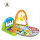 Baby play 5 in 1 music mat crawling carpet kids activities remote control blanket with hanging toys