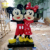 Life Size Fiberglass Cartoon Mascot Character Statue For Christmas Decoration