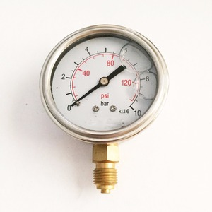 "Quality 2.5"" Oil Filled Class 1.6% Accuracy Pressure Gauges"