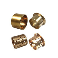 High quality CNC milling custom sliding bearing bronze bearing bushing / oiles brass bearing sleeve / copper bush