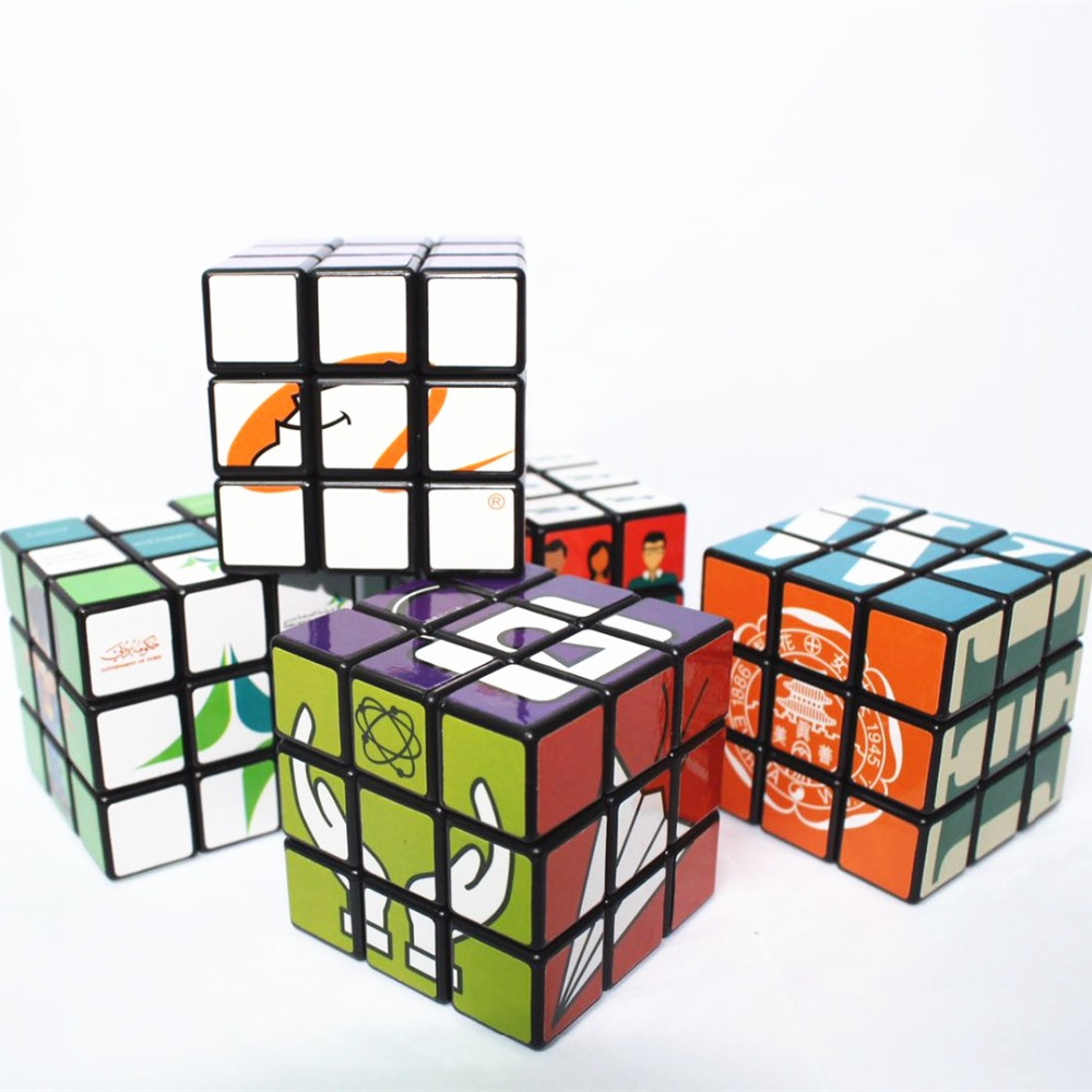 OEM 5.7cm Personal Brand Promotion Custom Printing Puzzle Magic Cube