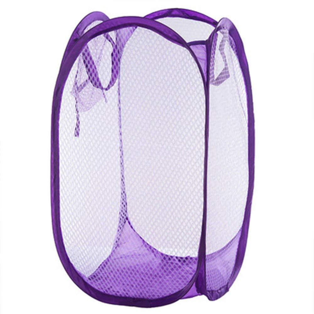Everyfit- Clothes Storage Basket Laundry Lingerie Folding Bag Dirty Clothes Collect Basket, Mesh Hamper Clothes Sorter (Color Sent by Random)