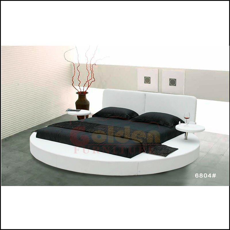 2015 Hot Sale Home Furniture Modern Round Bed Designs I6804# - Buy ...