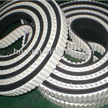 AT10+BLACK RUBBER Glass machinery timing belt/PU Joined timing belts