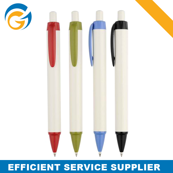 Fat Half Size Pens With Colors Clip
