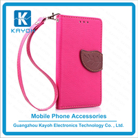 [kayoh]Factory price Fip PU Leather wallet Cell phone accessories Mobile Phone Case cover For Wiko Sunset