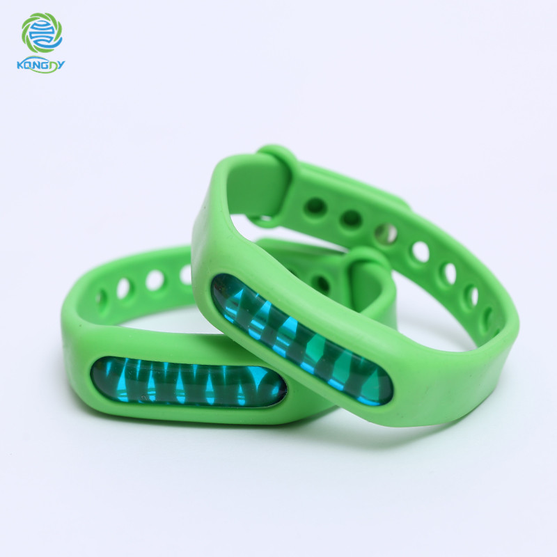 Natural Essential Oil Silicone Mosquito Repellent vracelet for baby infant