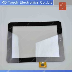 Industrial anti-glare touch panel for out door using