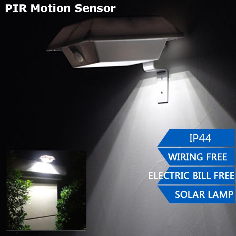 Pir Motion Sensor 150lm Super Bright Solar Led Outdoor