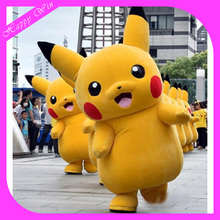 2016 Cheap japan cartoon character pikachu mascot costume XFY-118