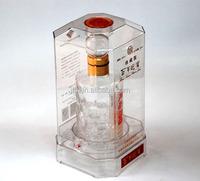 Chinese Style Wine Stong Plastic Box Clear Hard PVC PET Box