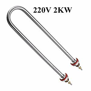 Pink Lizard 220V 2KW Electrical Element Stainless Steel Heating Tube For Water Heater
