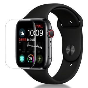 High Clear Full Coverage Anti Bubble Screen Film for Apple Watch Series 4 (42mm/44mm) Smartwatch tpu Screen Protector