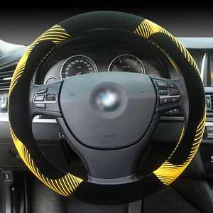 Keep Warm Plush Rubber Pe Shrink Car Steering Wheel Cover